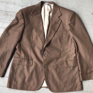 Men's haggar dress blazer coat size 42 short NWT